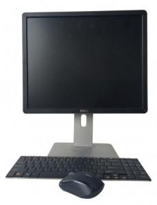 Monitor mysz klawiatura